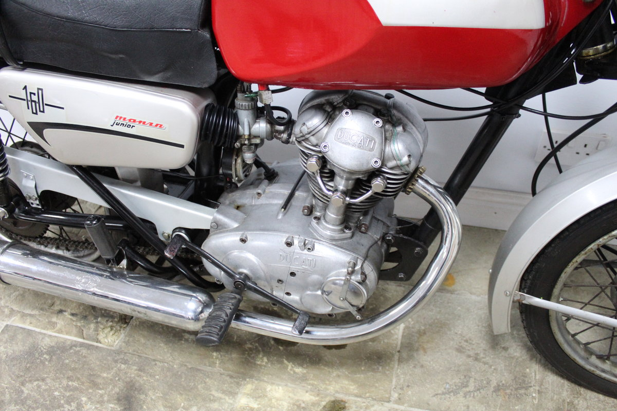 1971 UK  Registered  New Ducati TS 160 Very Good Original SOLD (picture 2 of 6)
