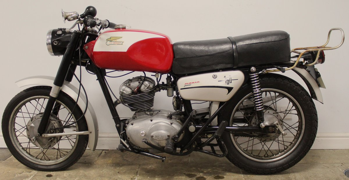 1971 UK  Registered  New Ducati TS 160 Very Good Original SOLD (picture 5 of 6)