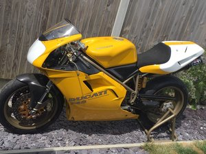 Ducati 748 RS 1998, Fully rebuilt OEM Genuine