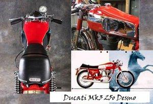 1970 Ducati 250 mark 3 Desmo coming soon