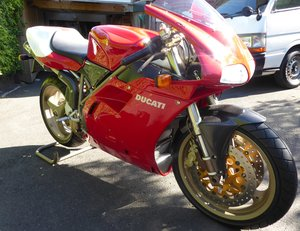 1998  DUCATI  916SPS  ONLY 515 MILES