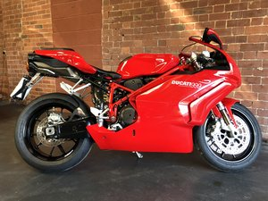 DUCATI 999 BI-POSTO 2005 RED FRAME For Sale