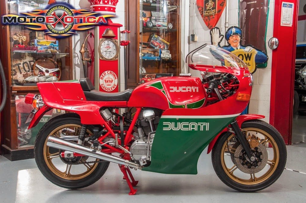 1980 Ducati SI MHR Mike Hailwood Rare Bike Museum $44.5k For Sale (picture 1 of 6)