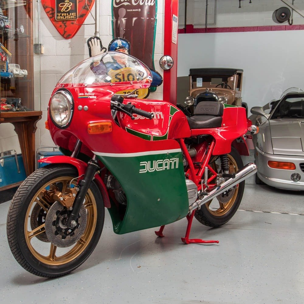1980 Ducati SI MHR Mike Hailwood Rare Bike Museum $44.5k For Sale (picture 2 of 6)