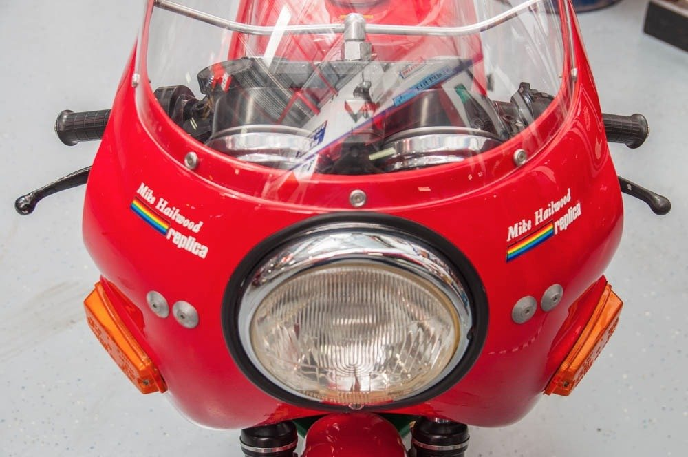 1980 Ducati SI MHR Mike Hailwood Rare Bike Museum $44.5k For Sale (picture 3 of 6)