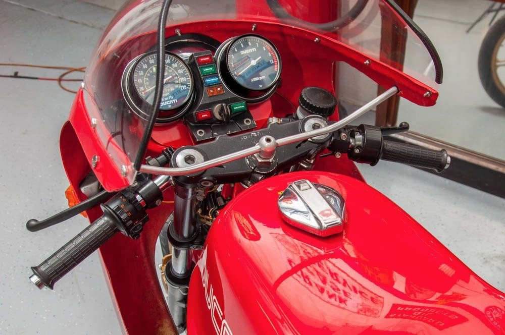 1980 Ducati SI MHR Mike Hailwood Rare Bike Museum $44.5k For Sale (picture 5 of 6)
