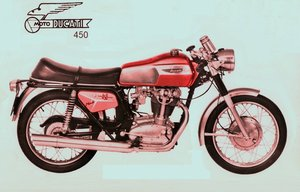 1971 Ducati 450 Mark 3 I'm coming