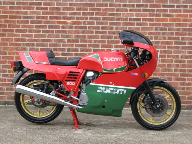 1984 Ducati MHR 900 ES - only 239 genuine miles from new For Sale (picture 1 of 6)
