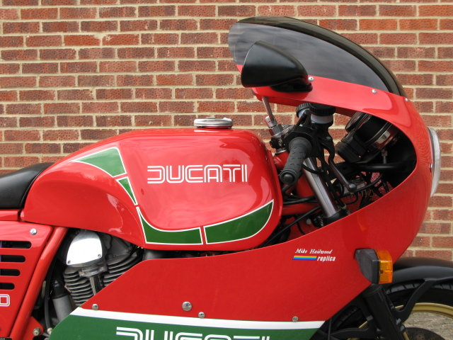 1984 Ducati MHR 900 ES - only 239 genuine miles from new For Sale (picture 2 of 6)