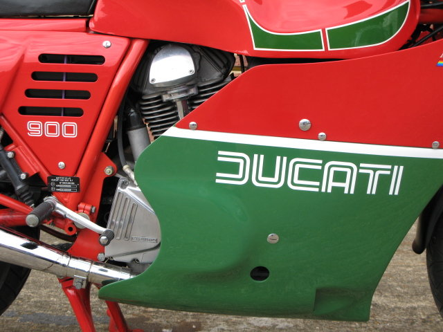 1984 Ducati MHR 900 ES - only 239 genuine miles from new For Sale (picture 3 of 6)