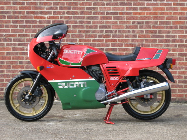 1984 Ducati MHR 900 ES - only 239 genuine miles from new For Sale (picture 5 of 6)