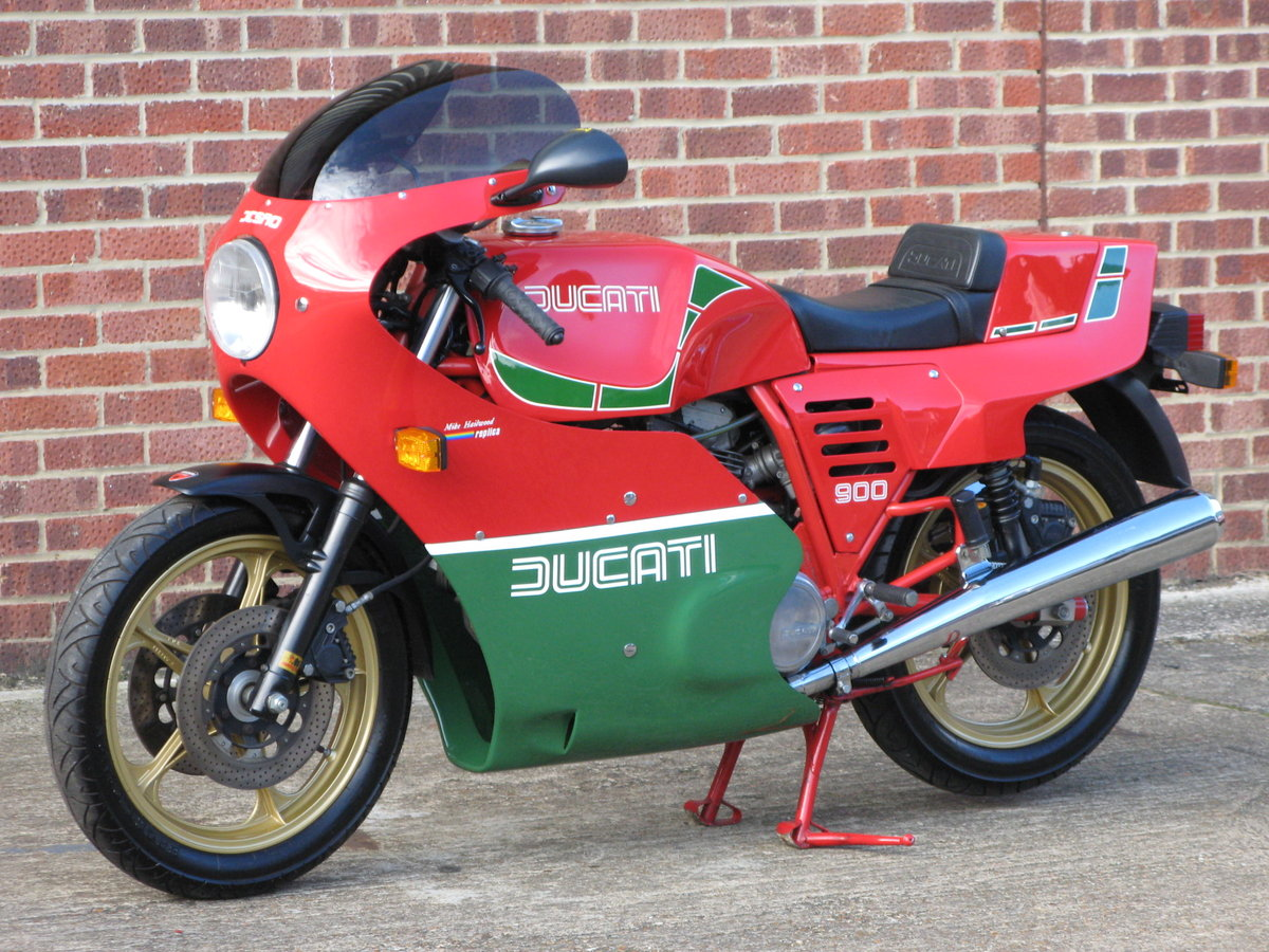 1984 Ducati MHR 900 ES - only 239 genuine miles from new For Sale (picture 6 of 6)
