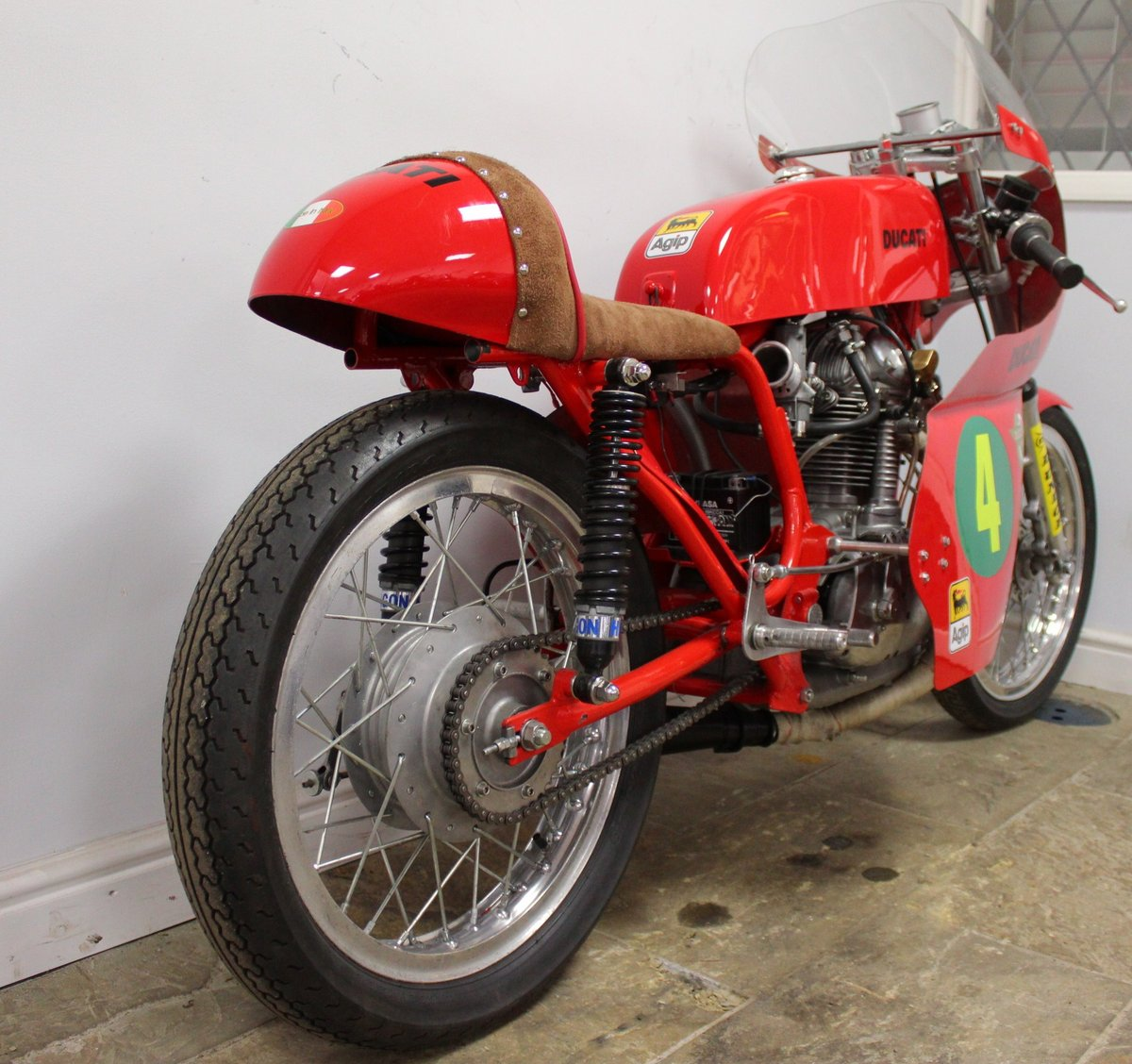 c1970 Ducati 250 cc Road Racer , Beautiful Period Race Bike SOLD (picture 5 of 6)