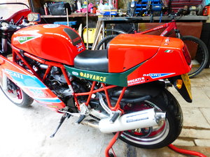 1989 Ducati 750 SS fitted with 904 engine For Sale