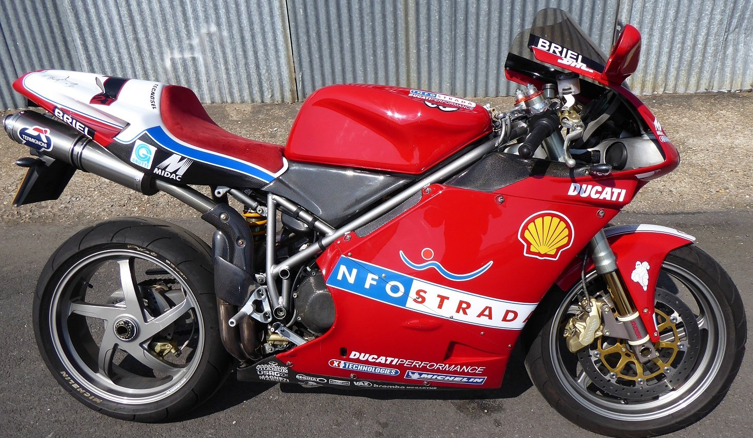 2002 Ducati 998S Bayliss Replica For Sale (picture 1 of 6)