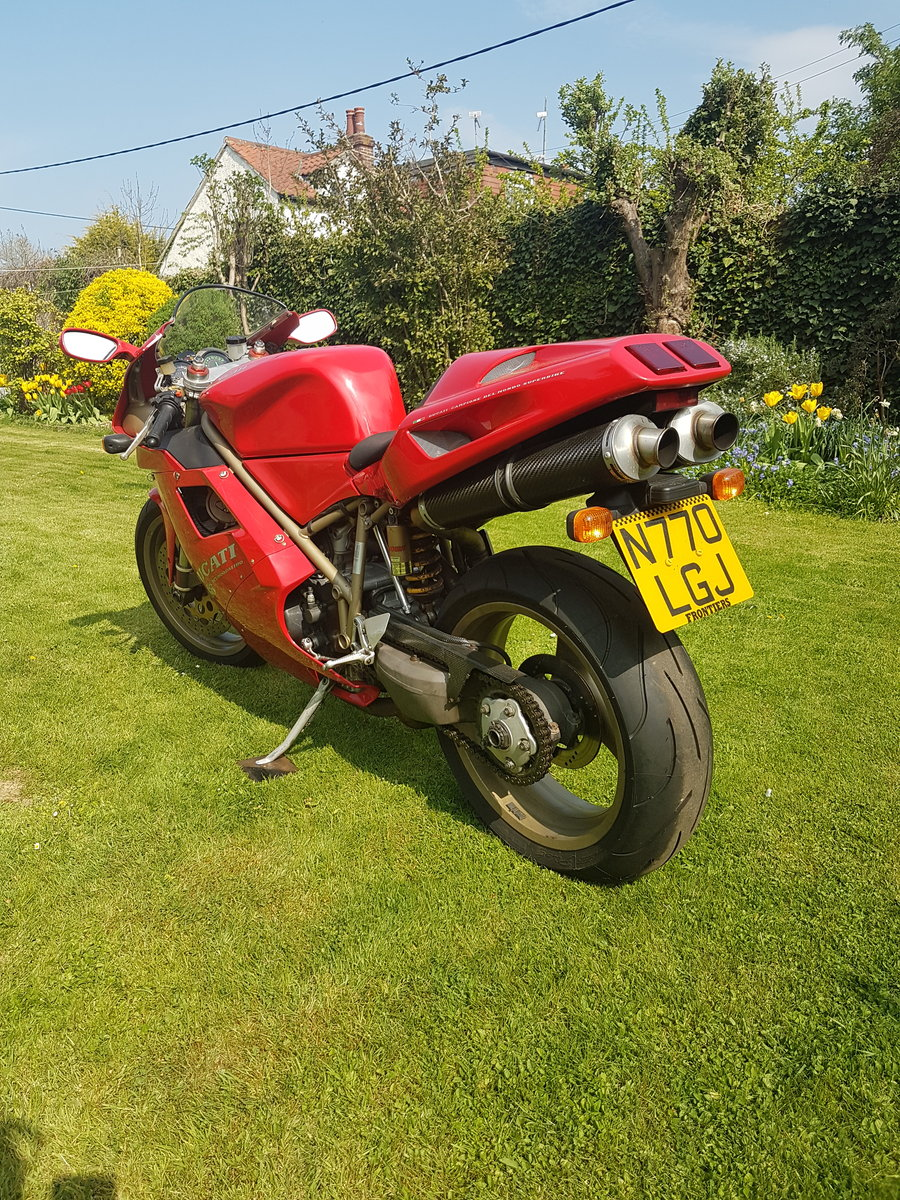 Ducati 916, 1996, 11,000 miles For Sale (picture 3 of 6)