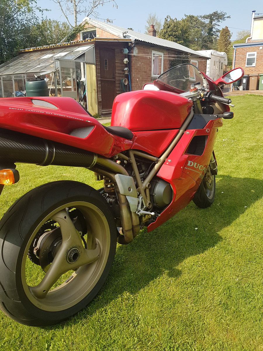 Ducati 916, 1996, 11,000 miles For Sale (picture 4 of 6)