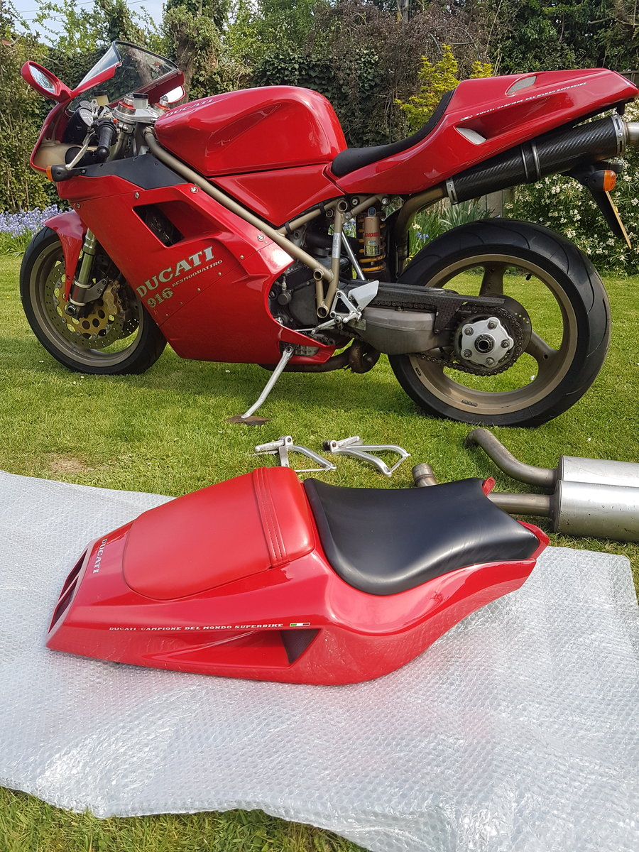 Ducati 916, 1996, 11,000 miles For Sale (picture 5 of 6)