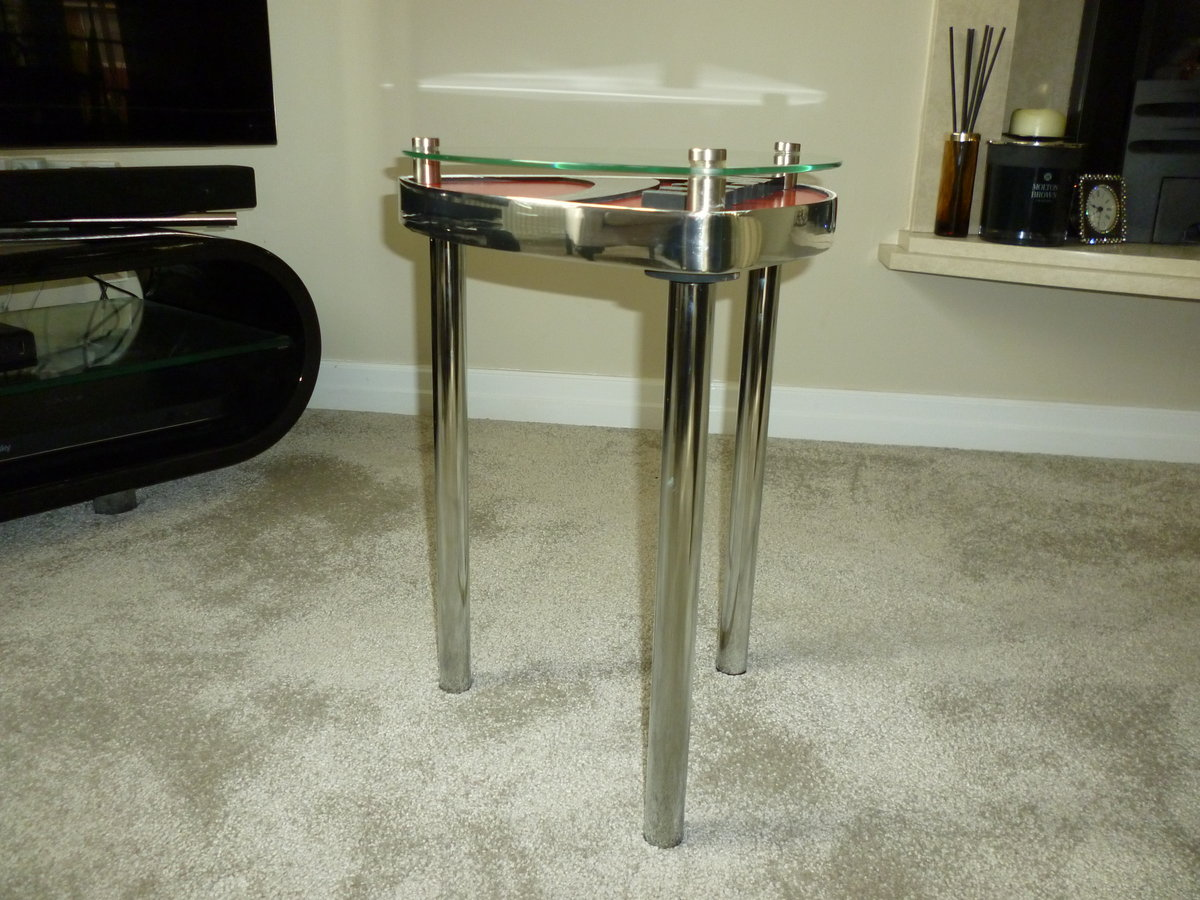 Ducati Themed Side Table SOLD (picture 3 of 3)