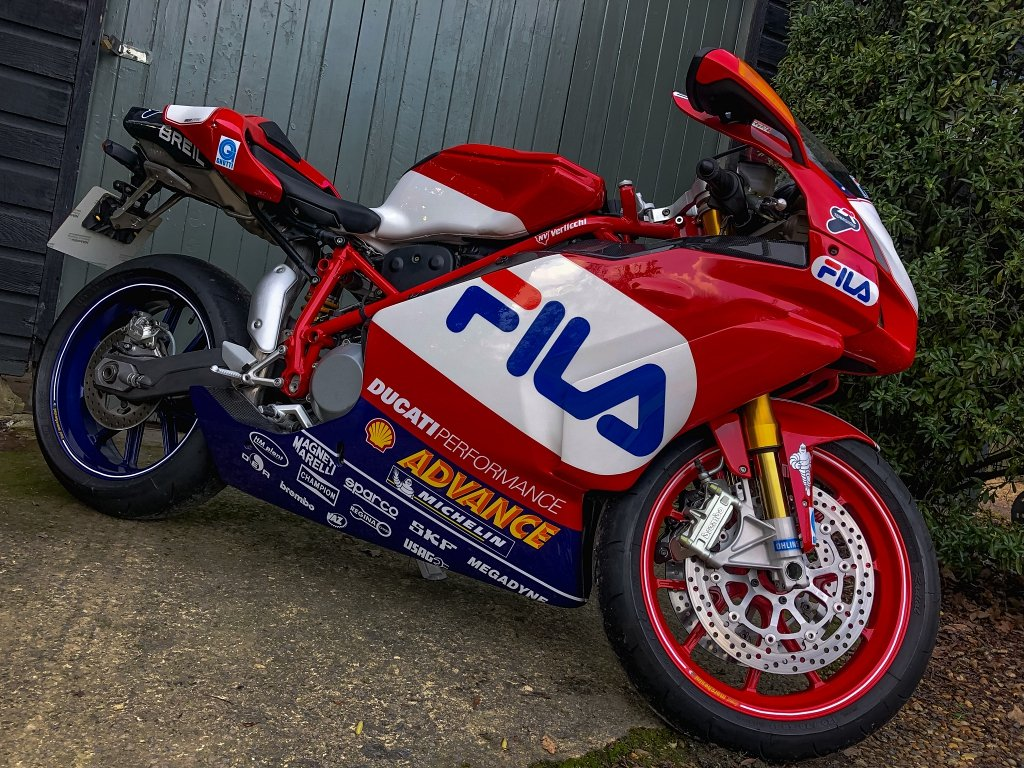 2004 DUCATI 999R FILA #0171  // 1 OWNER // Just 980 Miles!! // For Sale (picture 1 of 6)