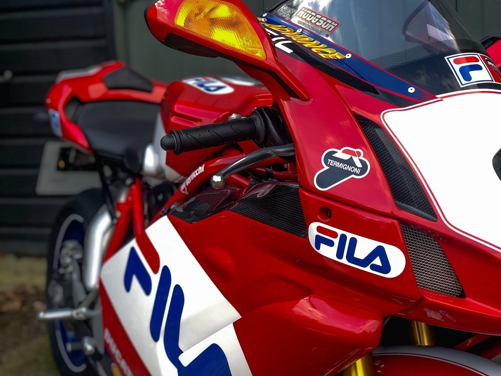 2004 DUCATI 999R FILA #0171  // 1 OWNER // Just 980 Miles!! // For Sale (picture 2 of 6)