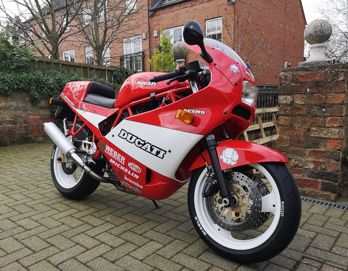 1989 Mint Low Mileage Ducati 900SS For Sale (picture 5 of 6)