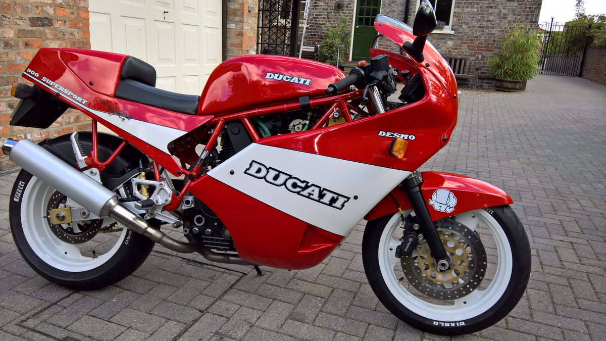 1989 Mint Low Mileage Ducati 900SS For Sale (picture 6 of 6)
