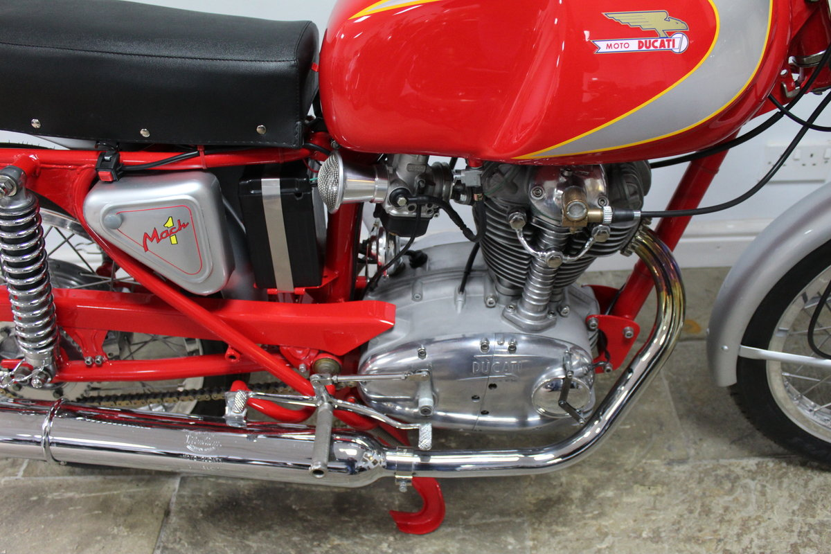 1966 Ducati Mach 1 250 cc OHC  with Five Speed Gearbox  SOLD (picture 2 of 6)