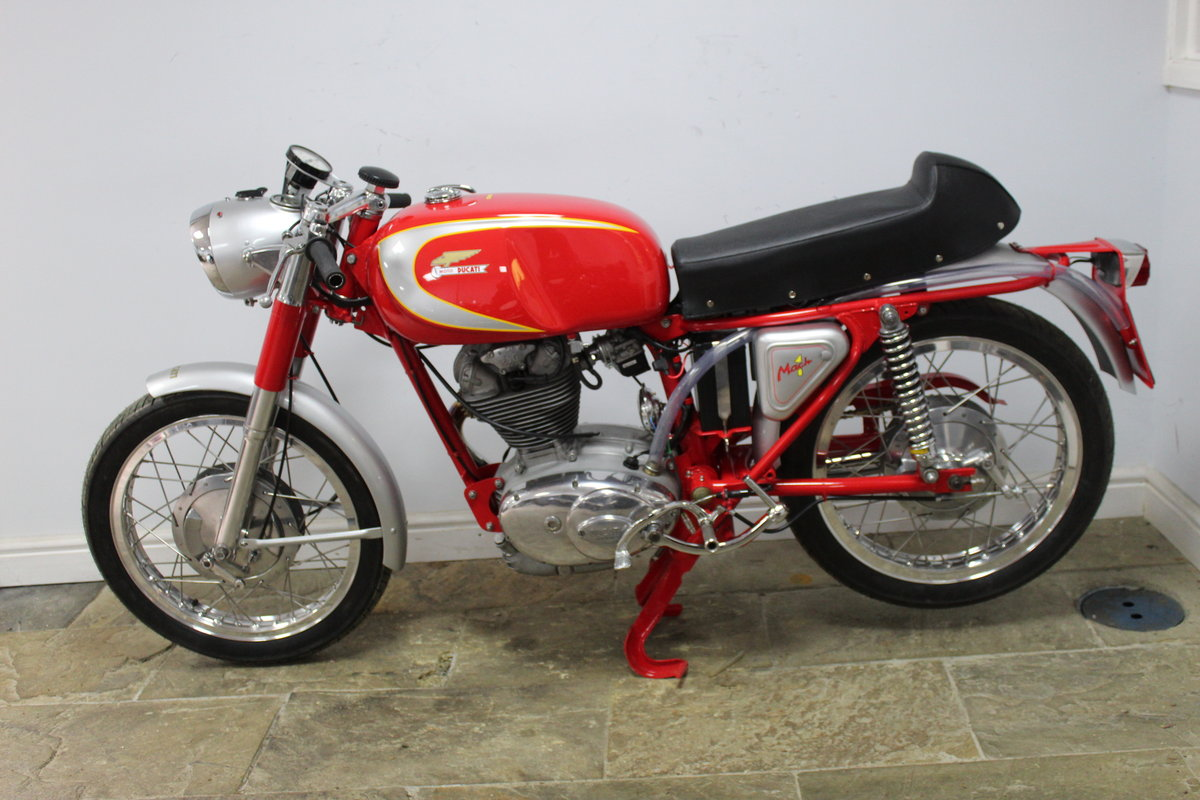 1966 Ducati Mach 1 250 cc OHC  with Five Speed Gearbox  SOLD (picture 5 of 6)