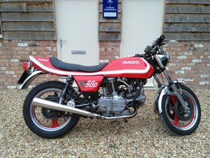 1980 Ducati Darmah 900 SD