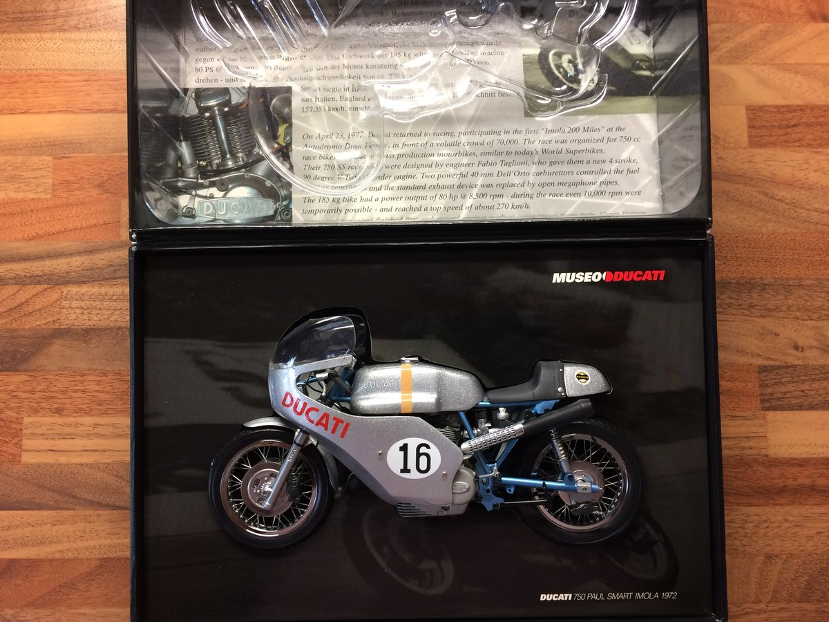 Minichamps Paul Smart Imola 1972 Scale 1:12 For Sale (picture 2 of 4)