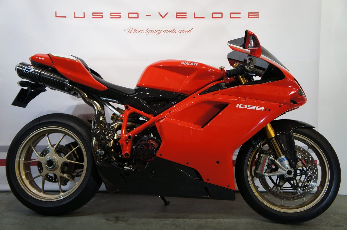 2008 Ducati 1098 R, 9500 miles, immaculate condition  For Sale (picture 1 of 6)