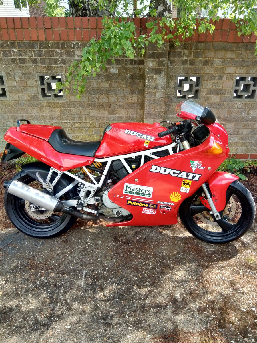ducati 750 ss 1992 for sale car and classic. Black Bedroom Furniture Sets. Home Design Ideas