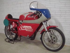 1978 ducati 450 single race  bike