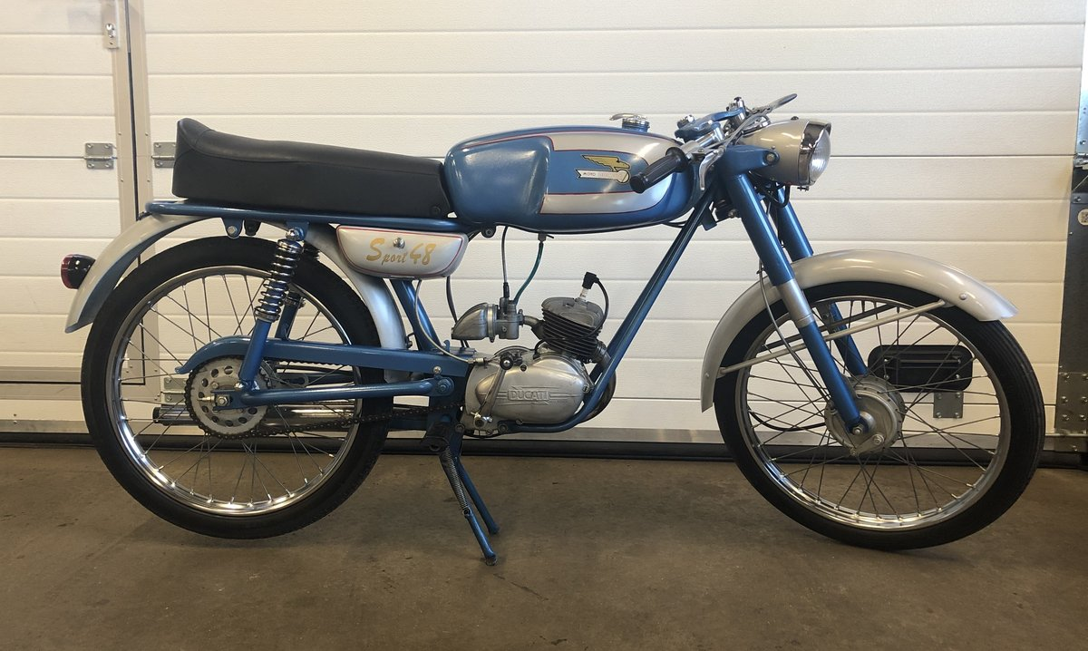 1962 Ducati 48 sport  For Sale (picture 1 of 5)