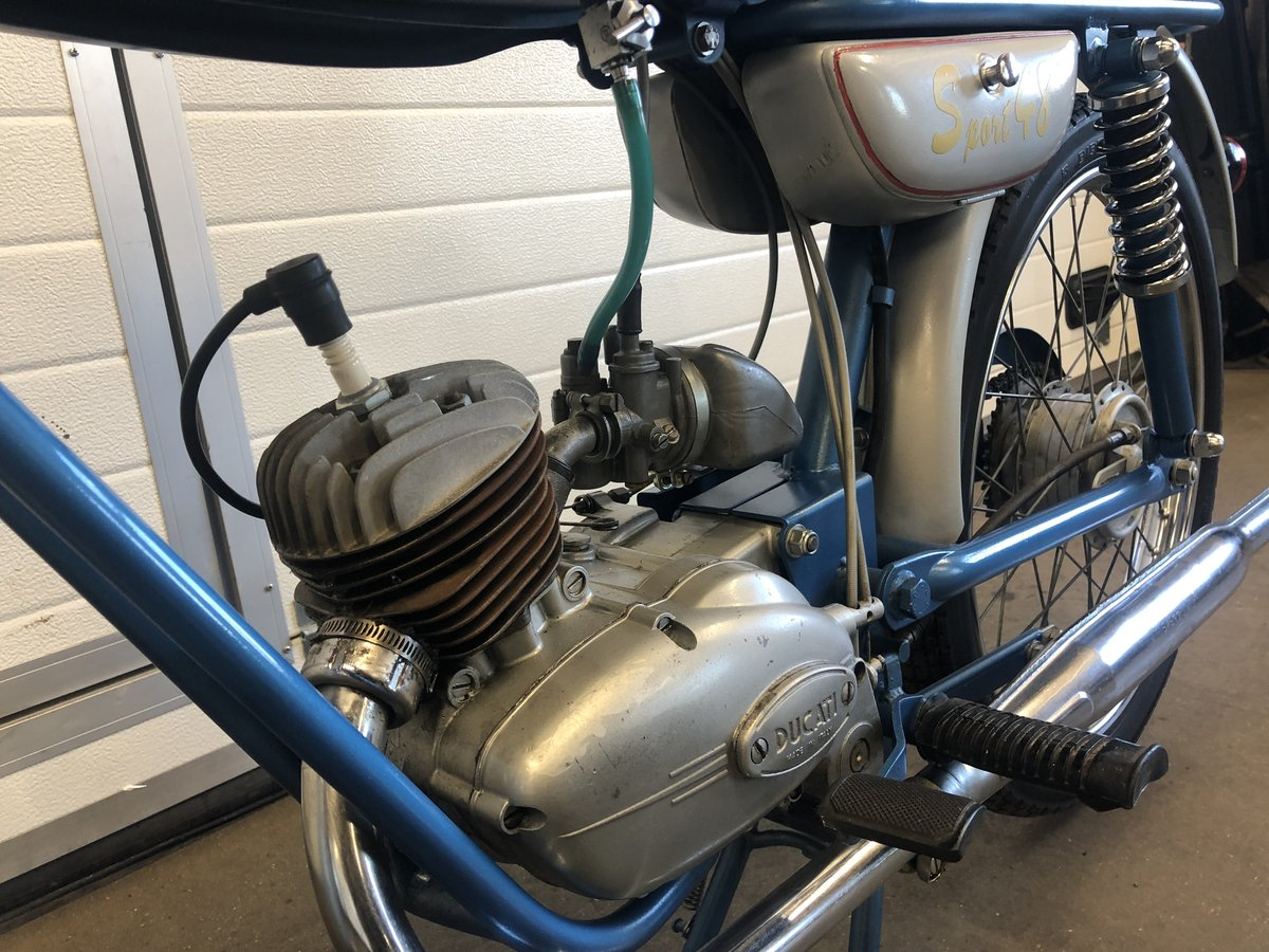 1962 Ducati 48 sport  For Sale (picture 4 of 5)