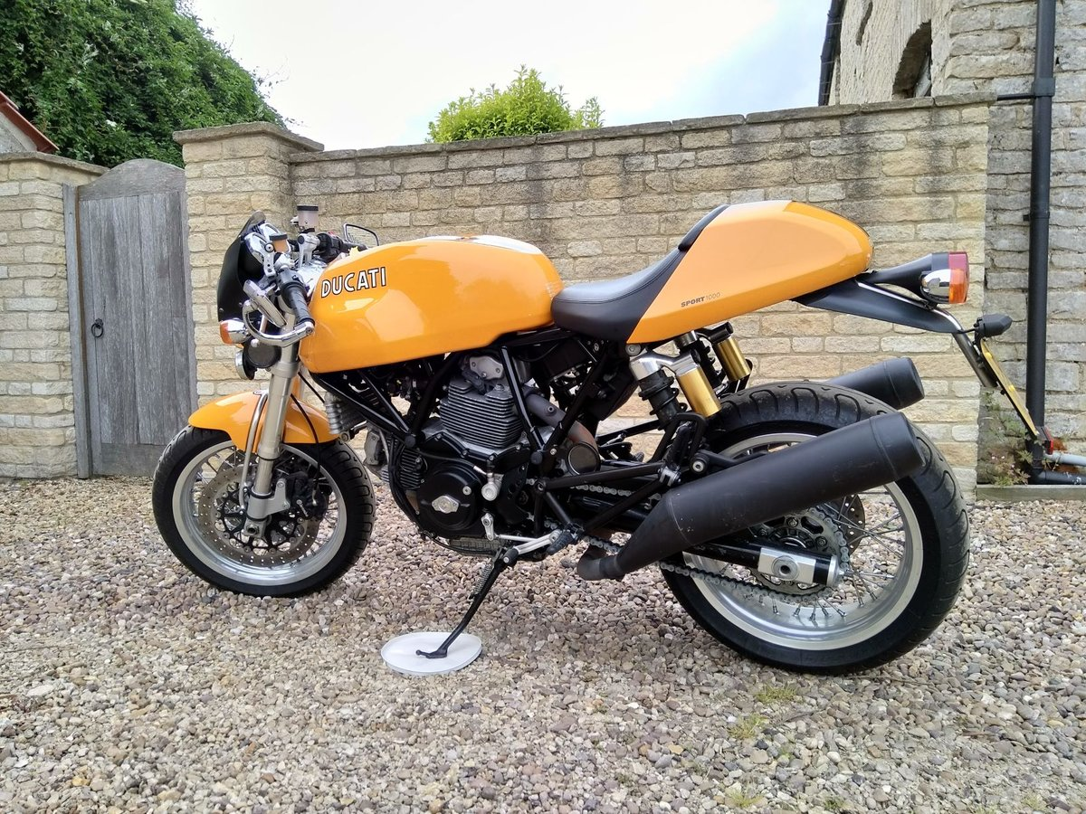 2007 Ducati Sport 1000 (Biposto) cafe racer SOLD (picture 1 of 6)