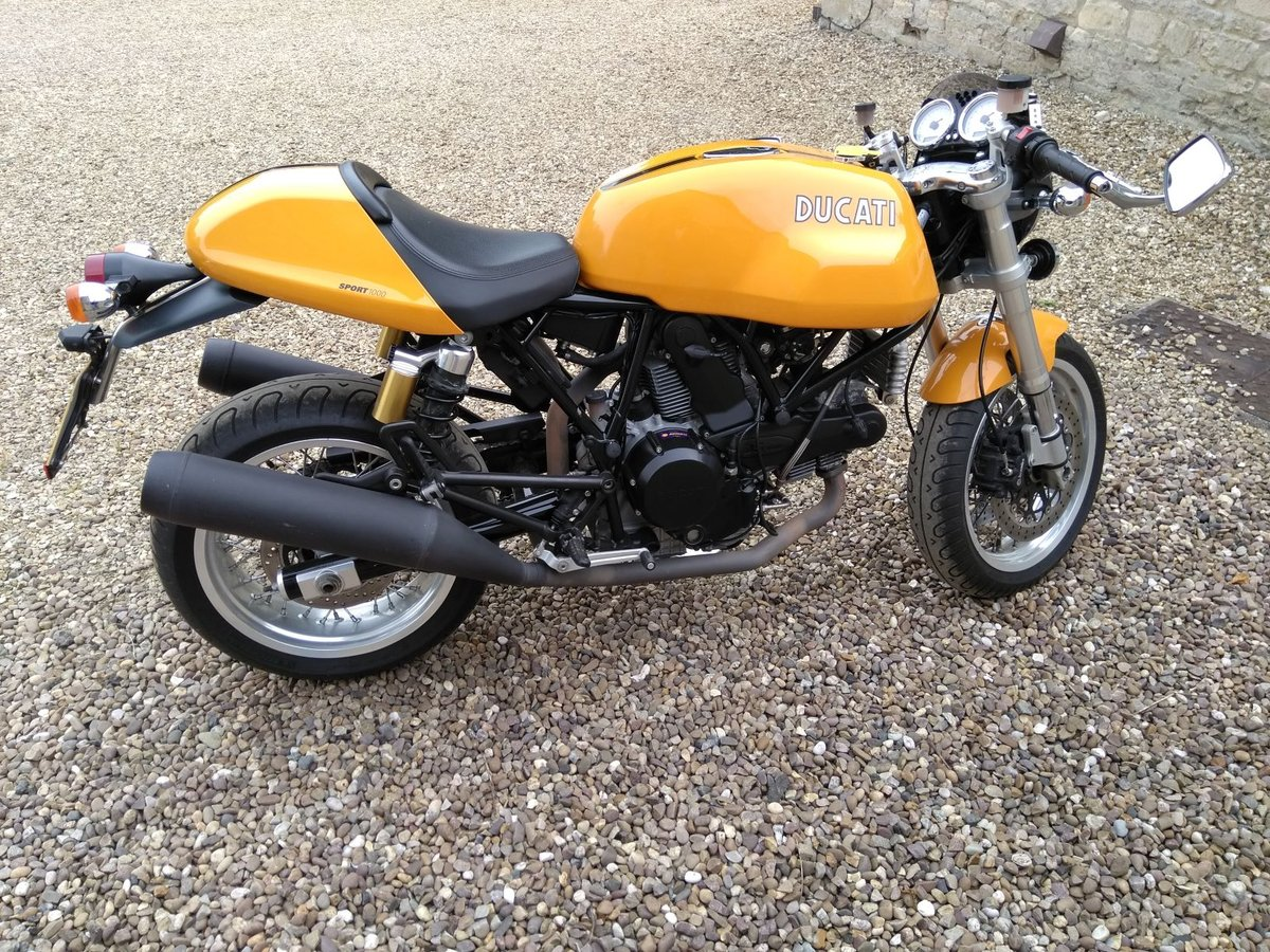 2007 Ducati Sport 1000 (Biposto) cafe racer SOLD (picture 2 of 6)