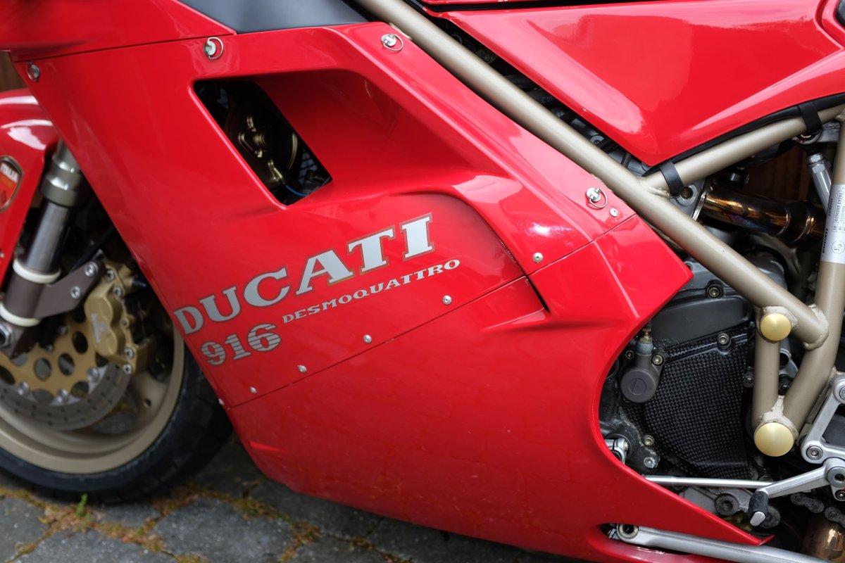 1997 Excellent condition Ducati 916 For Sale (picture 3 of 6)