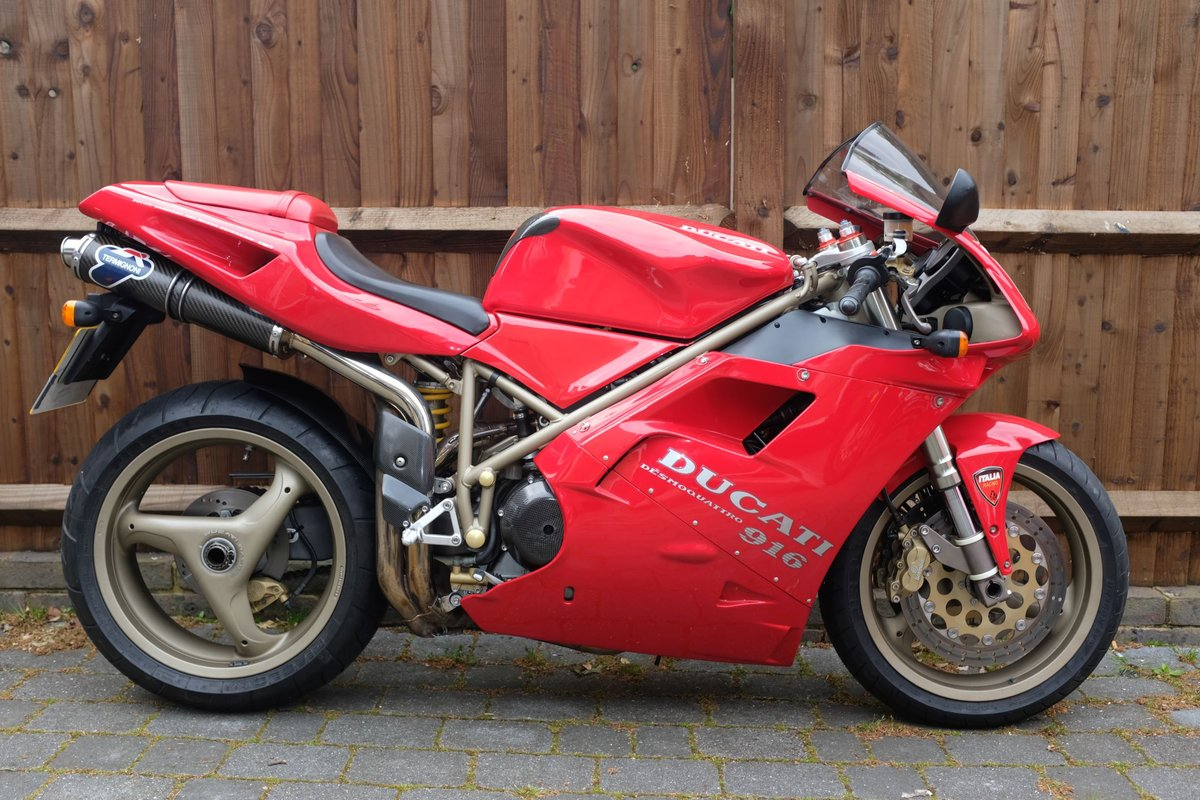 1997 Excellent condition Ducati 916 For Sale (picture 5 of 6)