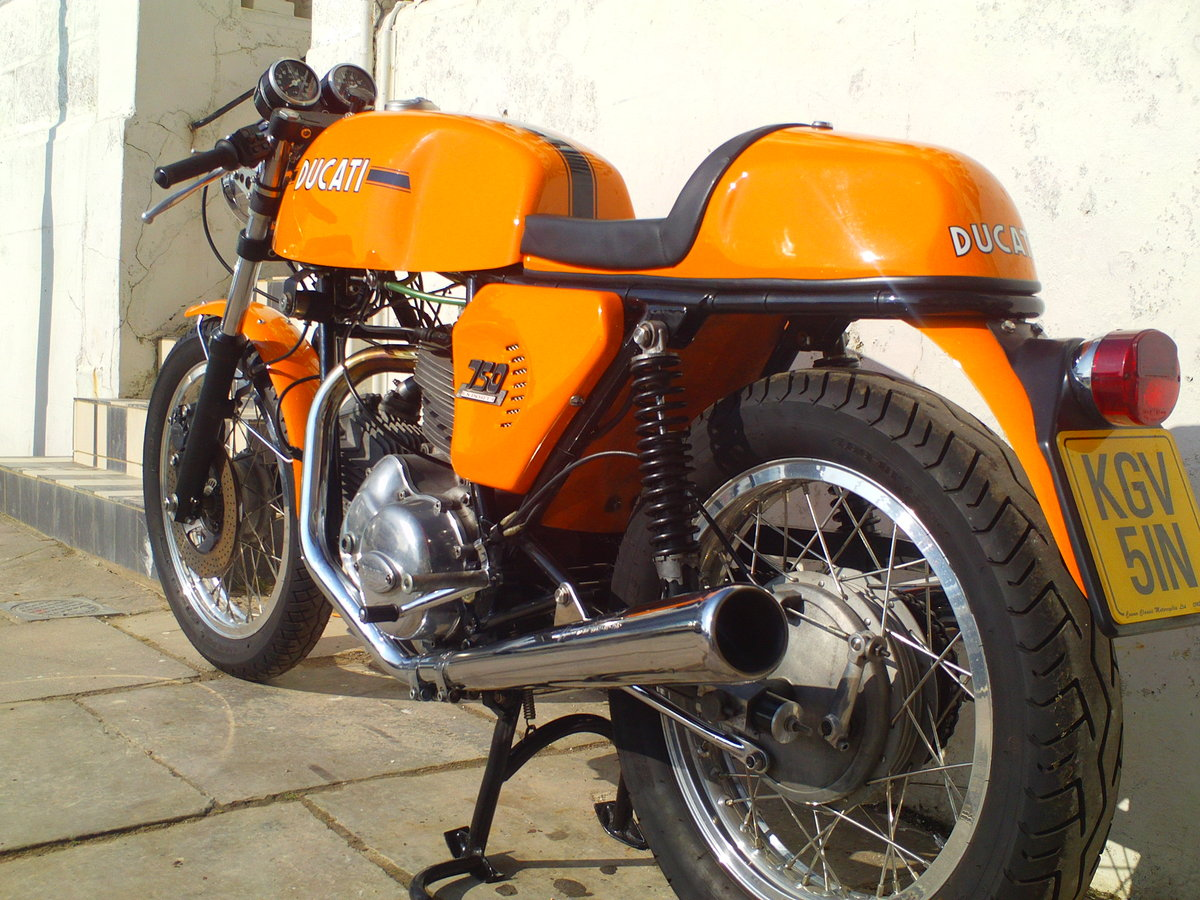 1974 DUCATI 750 SPORT ROUND CASE BEVEL For Sale (picture 4 of 6)
