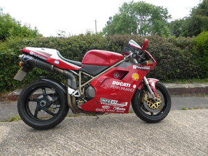 1998 DUCATI 916 CARL FOGARTY REPLICA SOLD