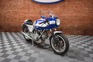 1979 Ducati 900 Super Sport = Silver(~)Blue Racing Stripes  For Sale