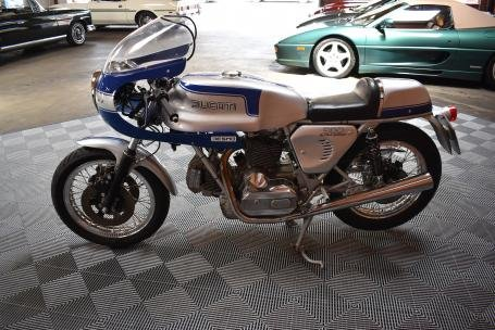 1979 Ducati 900 Super Sport = Silver(~)Blue Racing Stripes  For Sale (picture 2 of 6)