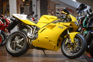 2000 Ducati 748R Rare 2,143 mile example For Sale