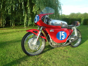 1966 Ducati 350cc race bike