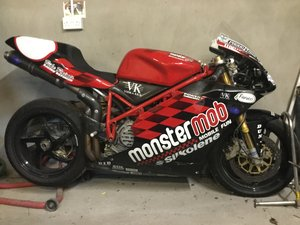 Ducati 748RS (Genuine Ex Monstermob Stuart Easton)