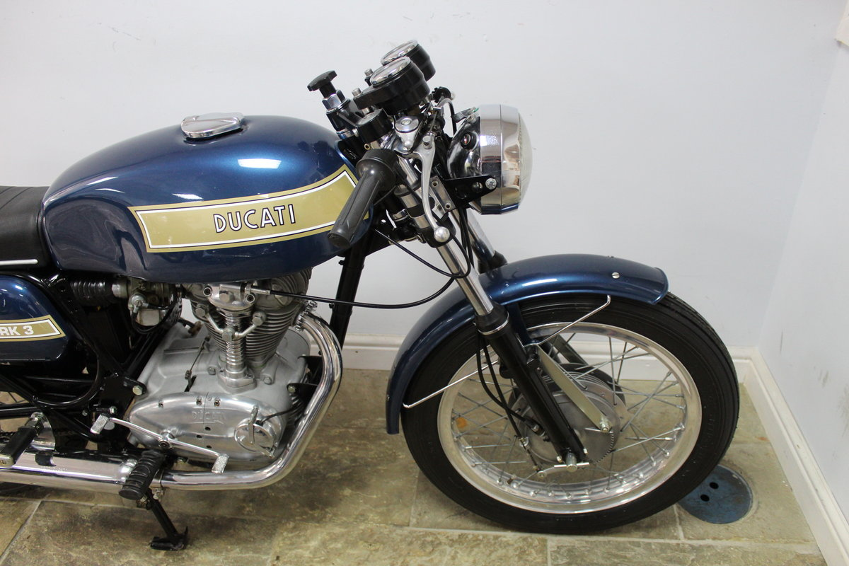 1975 Ducati 350 cc Imported from Torino , Restored in Italy  SOLD (picture 2 of 6)