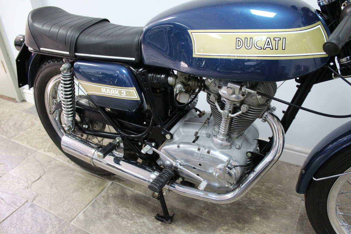1975 Ducati 350 cc Imported from Torino , Restored in Italy  SOLD (picture 3 of 6)