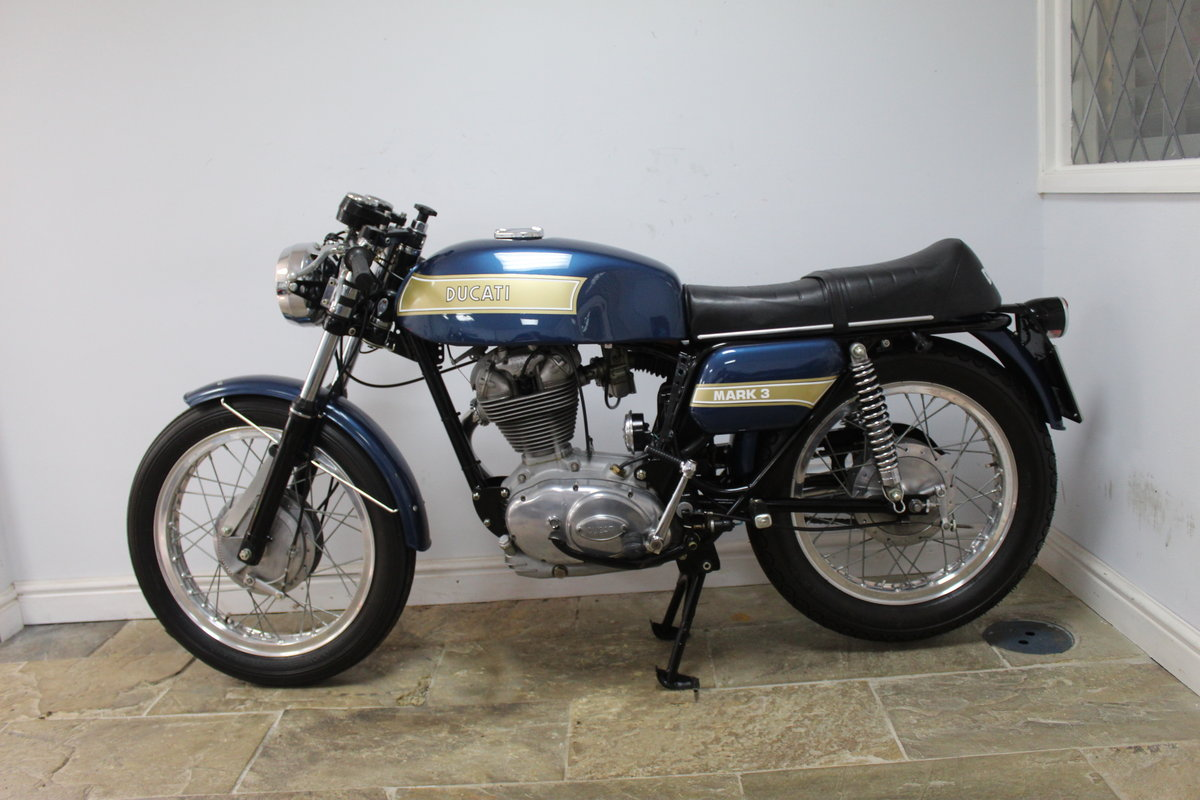 1975 Ducati 350 cc Imported from Torino , Restored in Italy  SOLD (picture 5 of 6)